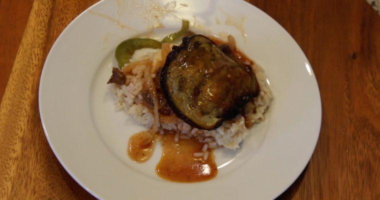 Eggplant Stew is Winter's Memories