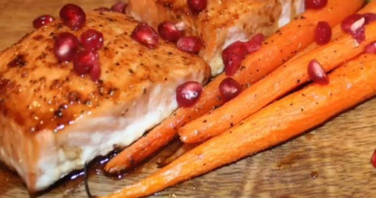 Looking To Impress? Try Pomegranate Salmon