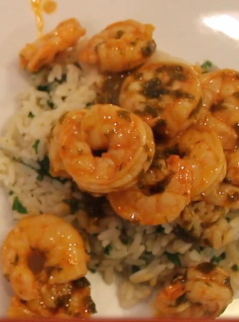 Shrimp and Citrus Rice: Delectable Combination